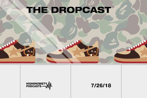 main bape the dropcast