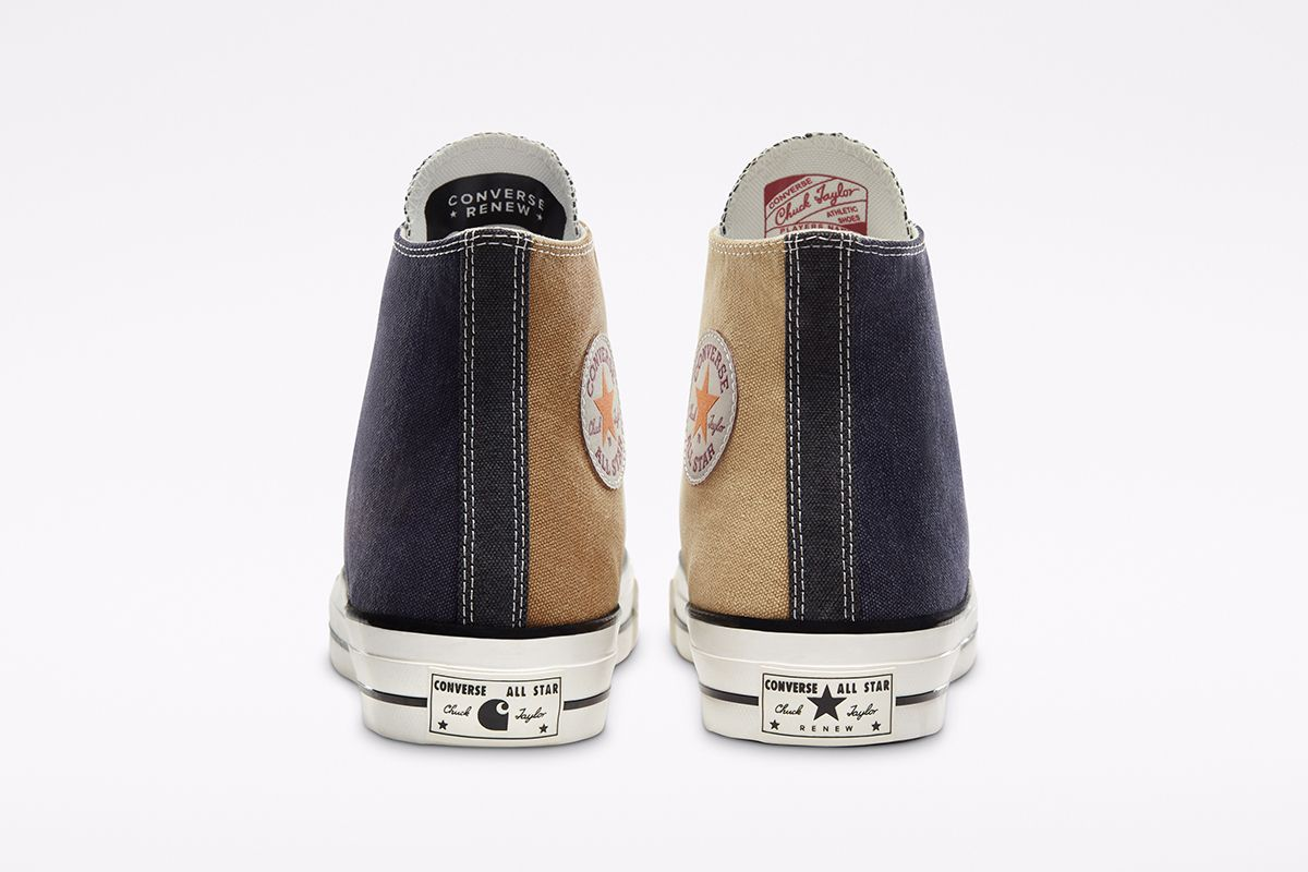 These Converse Chuck 70s Are Made From Vintage Carhartt Garments 17