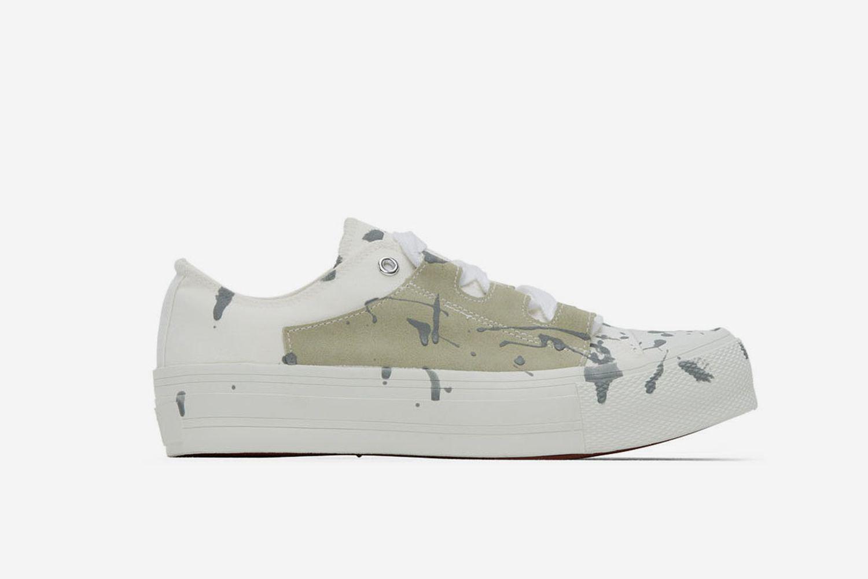 Paint Ghillie Sneakers