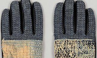 Kapital Indigo Sashiko 'Kogin' Gloves