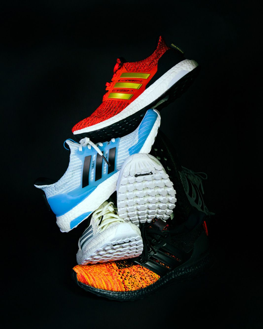 the best attitude d49fe ae195 adidas and  Game of Thrones  collaborate on six Ultraboost sneakers  inspired by the show s characters.