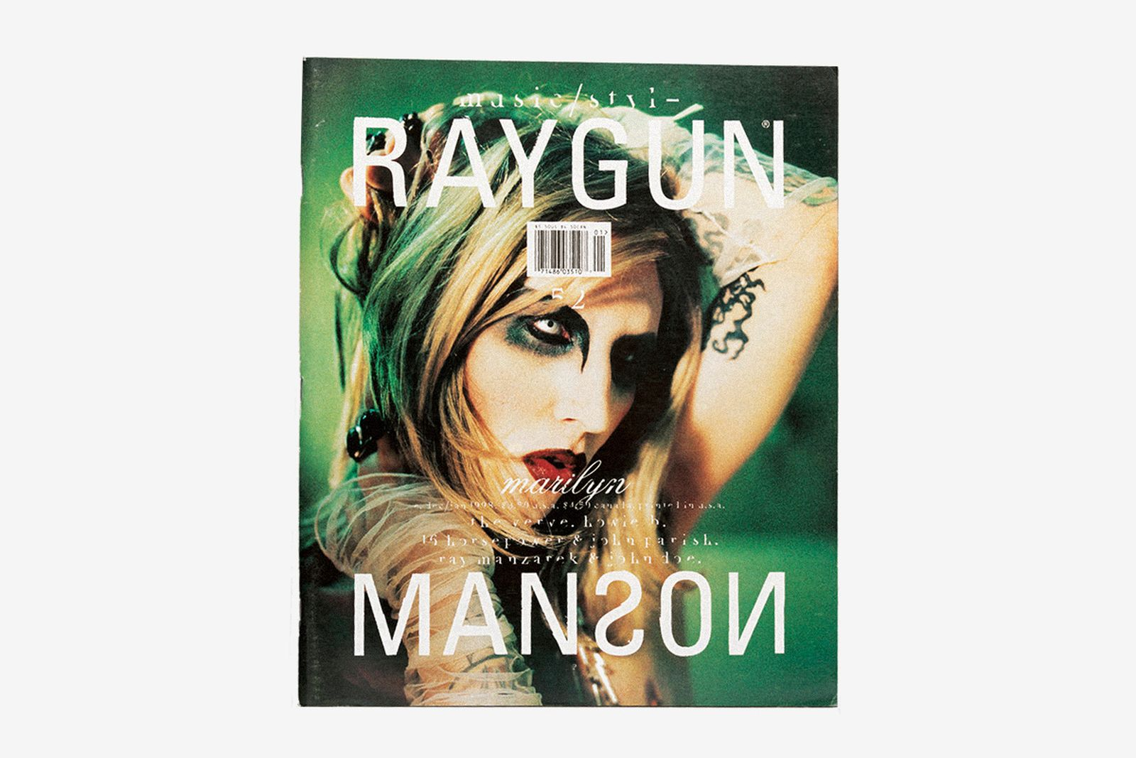 inside cult rock mag defined grunge aesthetic main Ray Gun rizzoli