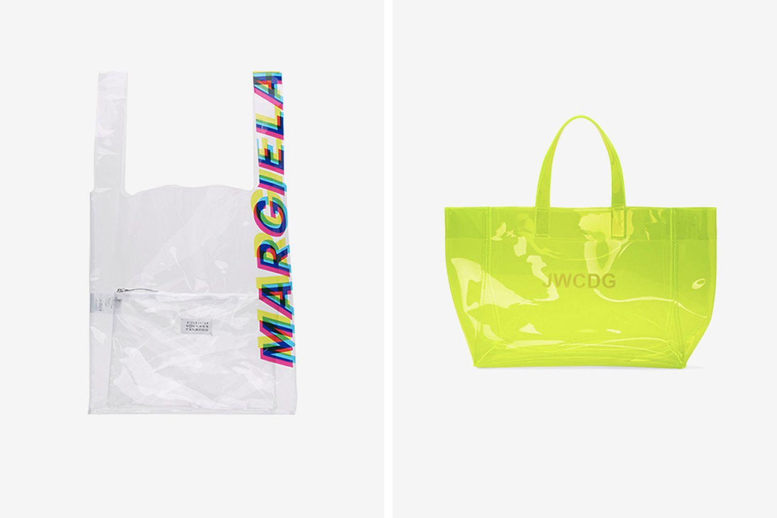 transparent bags main Maison Margiela eastpak goodfight