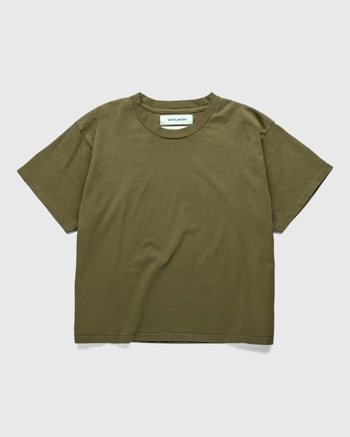 Darryl Brown — T-Shirt Military Olive - Image 1