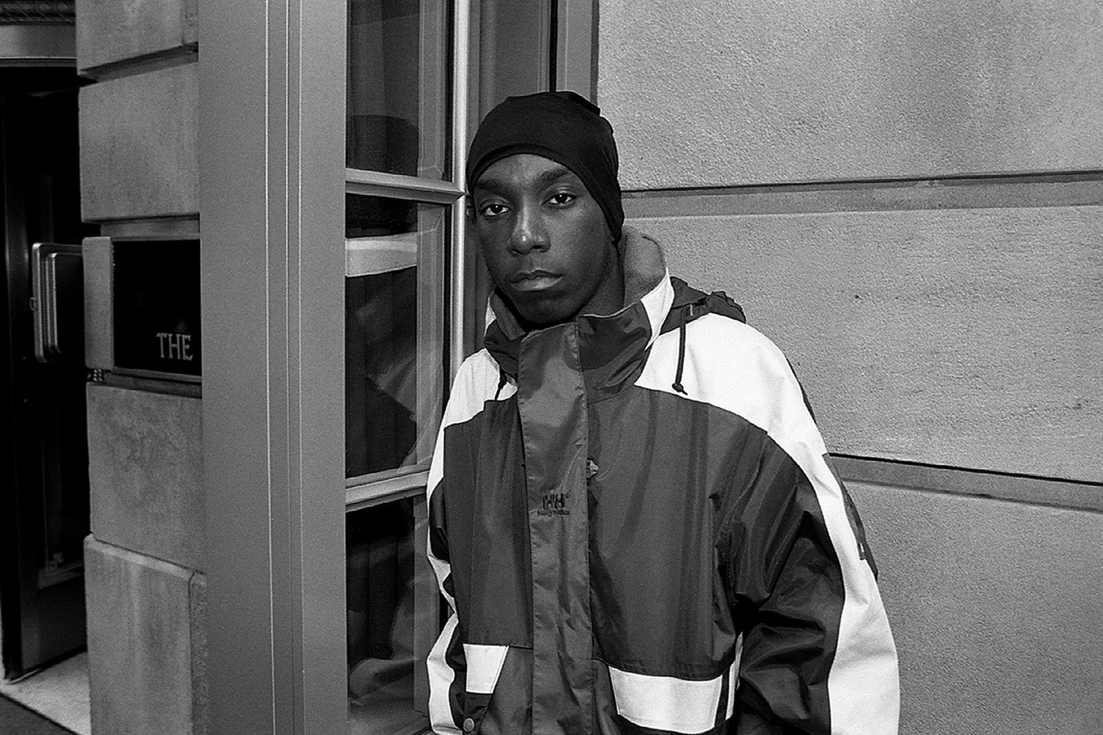 Rapper Big L poses for photos at The Ambassador East Hotel in Chicago