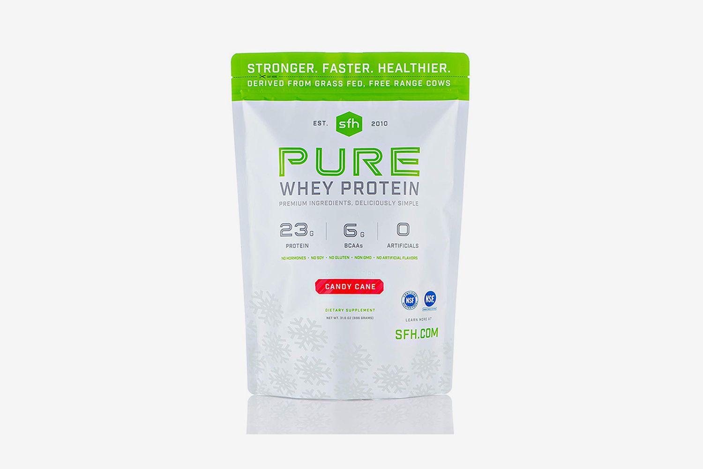 Candy Cane Protein Powder