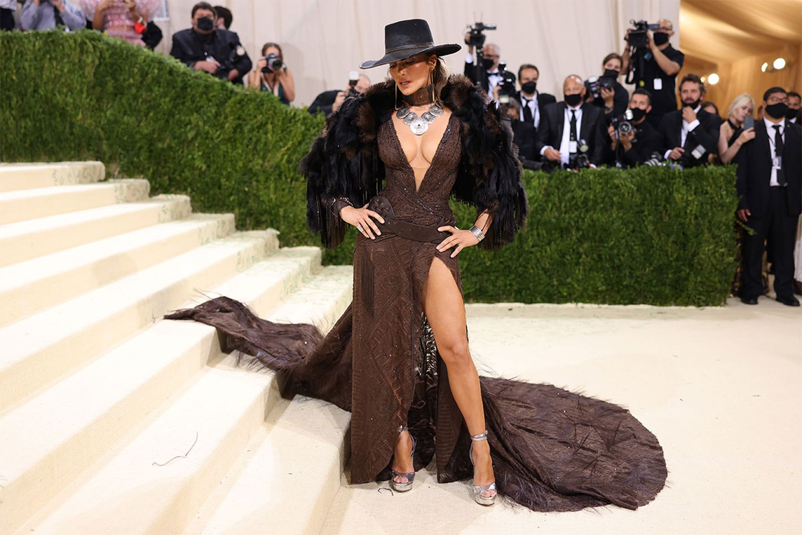 met gala 2021 celebrity style looks best outfits red carpet worst jennifer lopez jlo