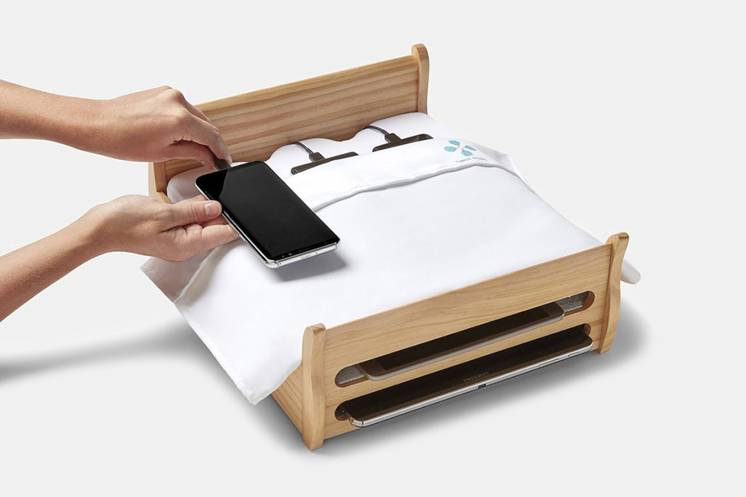 Phone Bed Charging Station
