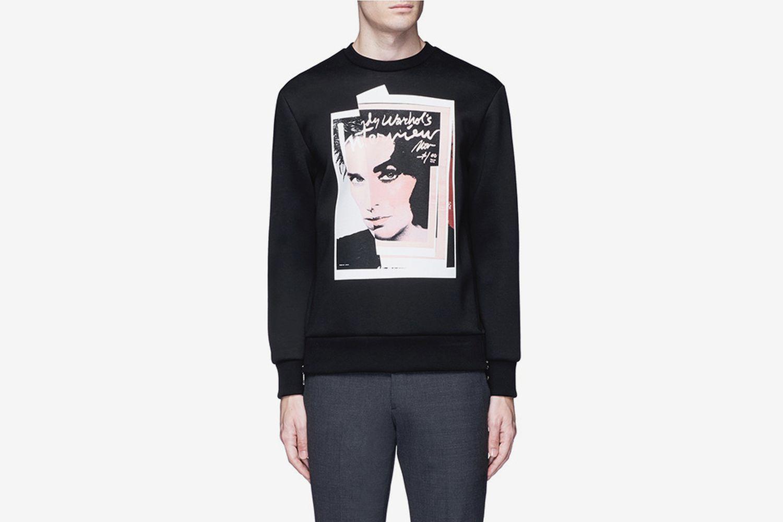 Eddie Taylor Hybrid Print Sweatshirt