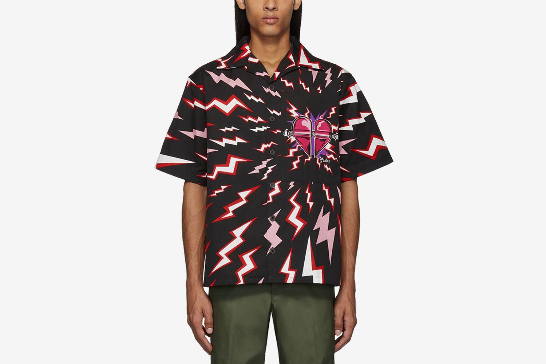 Thunder Print Shirt