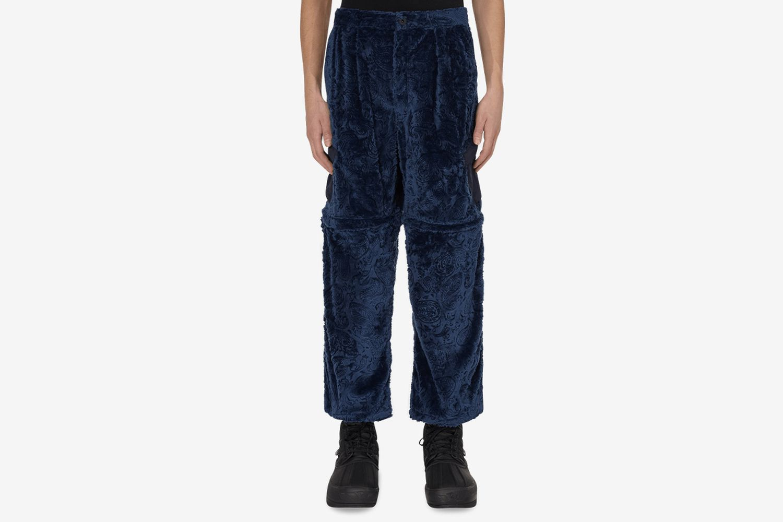 Fur Convertiable Zip Off Pants