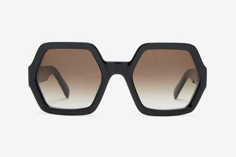 Hexagon Acetate Sunglasses