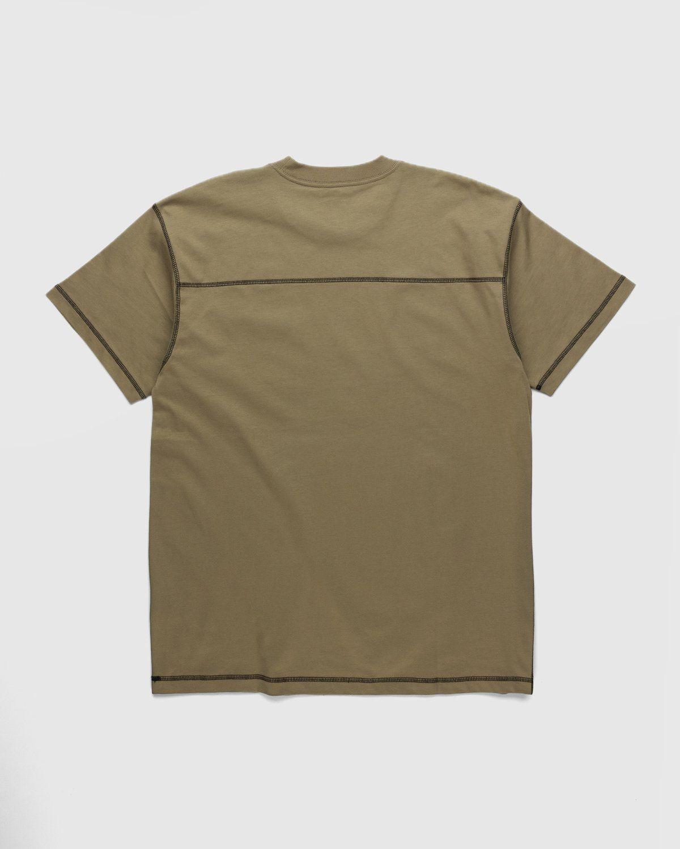 Carhartt WIP – Nazka Pocket T-Shirt Brown - Image 2