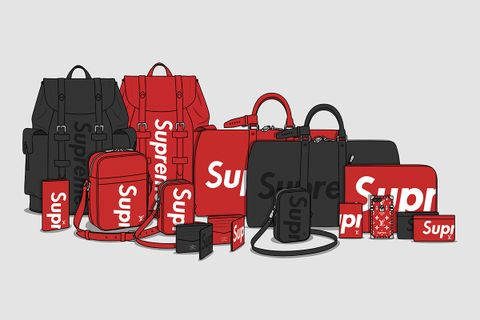 6dc5bc314c93 Here Are the Most Expensive Supreme x Louis Vuitton Pieces on the Resale  Market Right Now