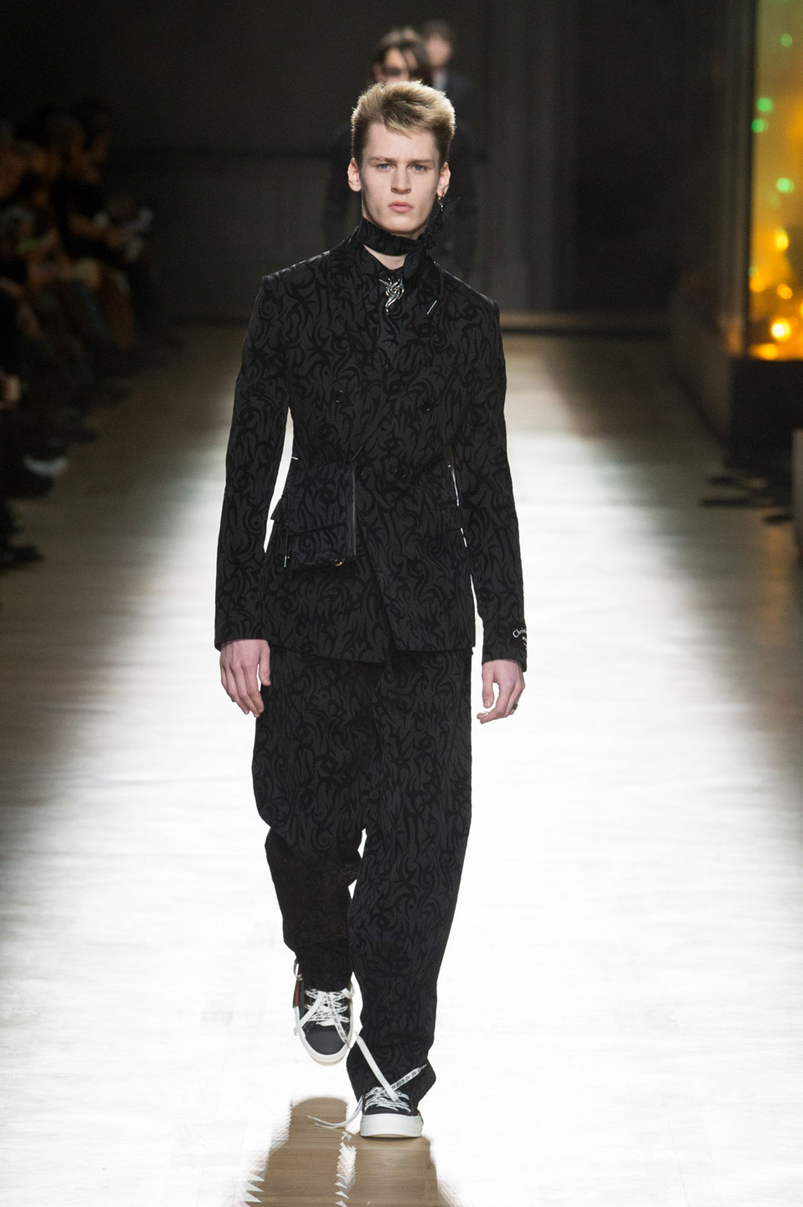 DIOR HOMME WINTER 18 19 BY PATRICE STABLE look45 Fall/WInter 2018 runway