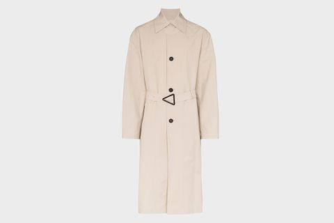 Button-Down Trench Coat