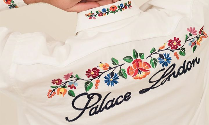 Palace shirt embroidery