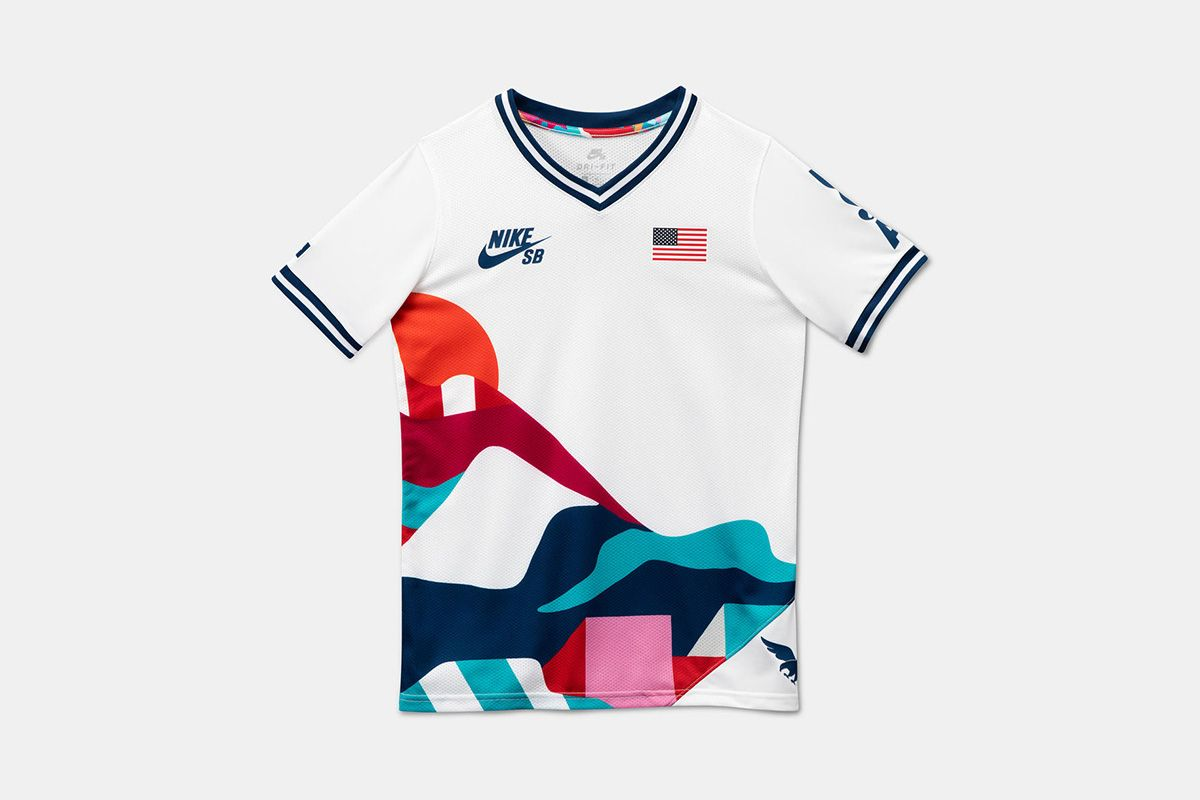Parra Made the Most Fire Nike SB Kits for the Tokyo Olympics