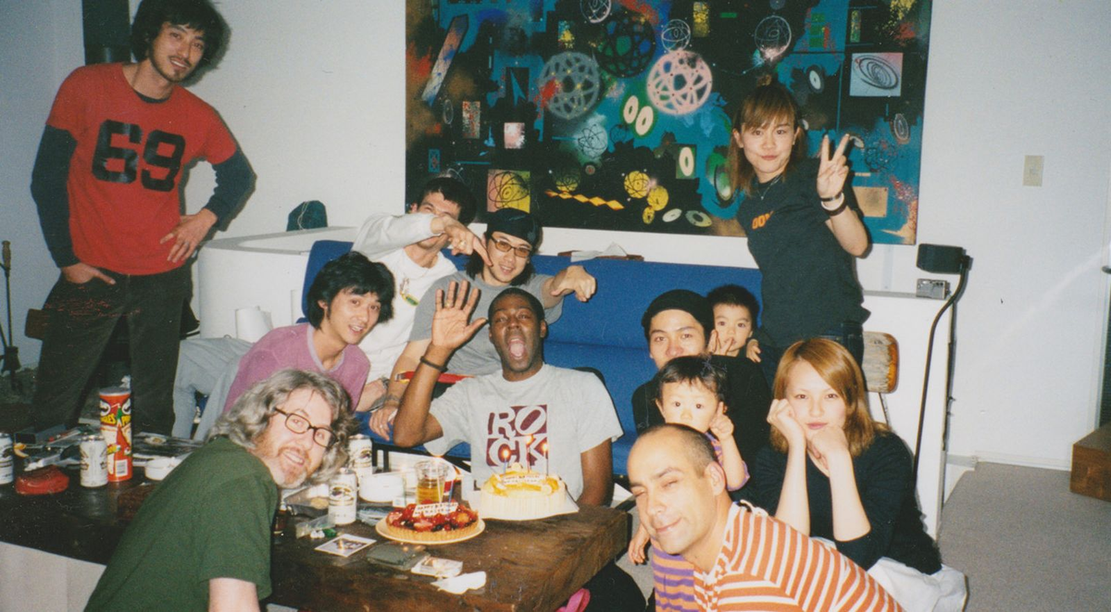 Fraser Cooke, Alex Turnbull, Jun Takahashi Hitomi, James Lebon, trip to Japan