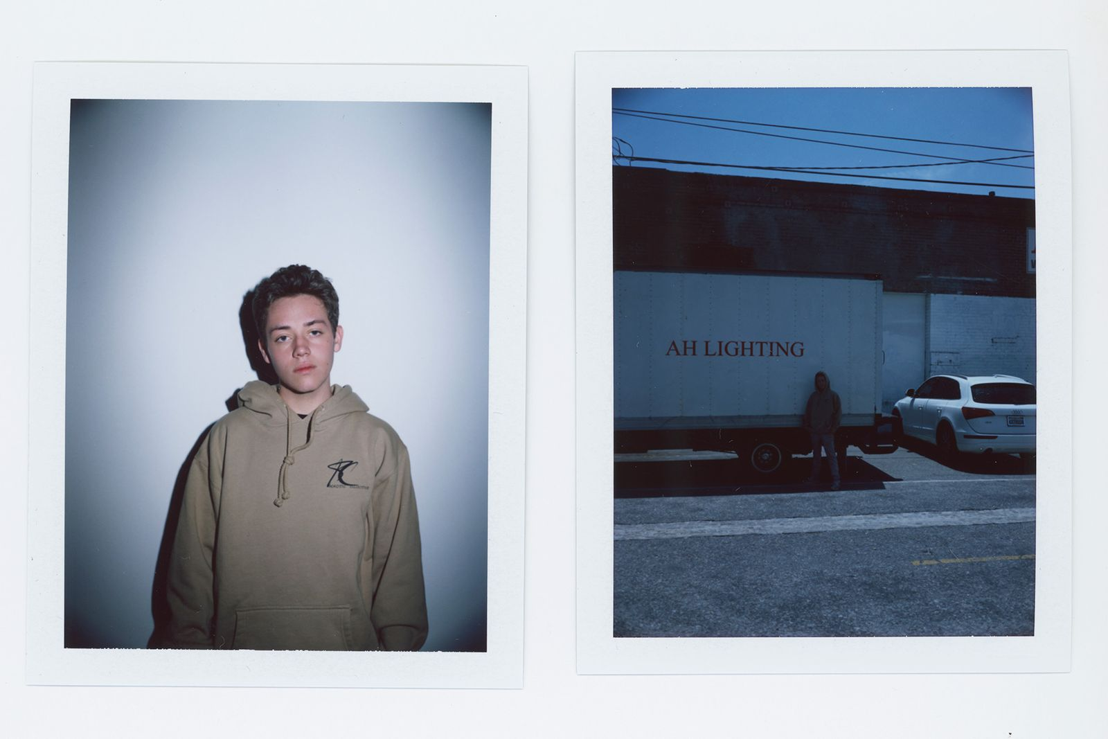 Ethan Cutkowsky Polaroid Thomas Welch Highsnobiety Khaotic Collective Mike Cherman chinatown market