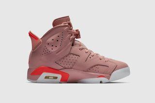 "9fea1ef705a Nike. Nike. Nike. Previous Next. Brand: Aleali May x Jordan Brand. Model: Air  Jordan 6 ""Millennial Pink"""