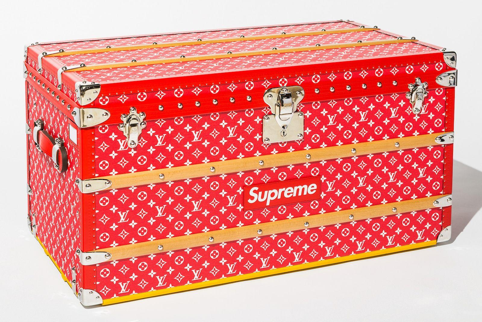 supreme louis vuitton malle courrier trunk auction Heritage Auctions