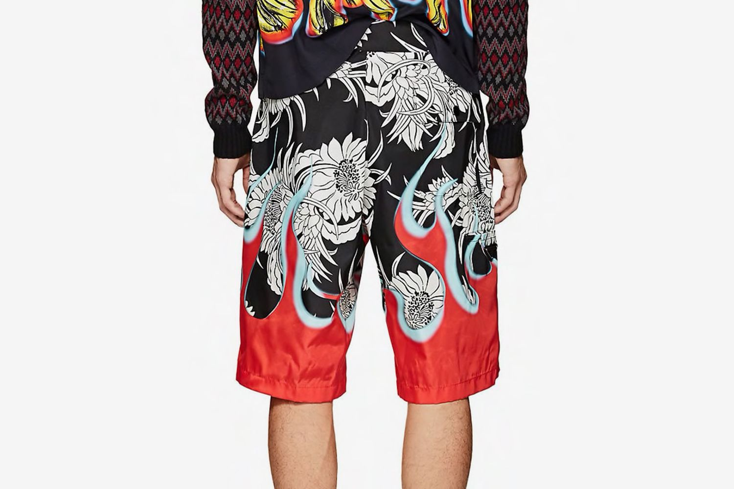 Floral & Flames Board Shorts