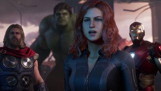 marvel avengers gameplay Gamescom 2019 marvel's avengers