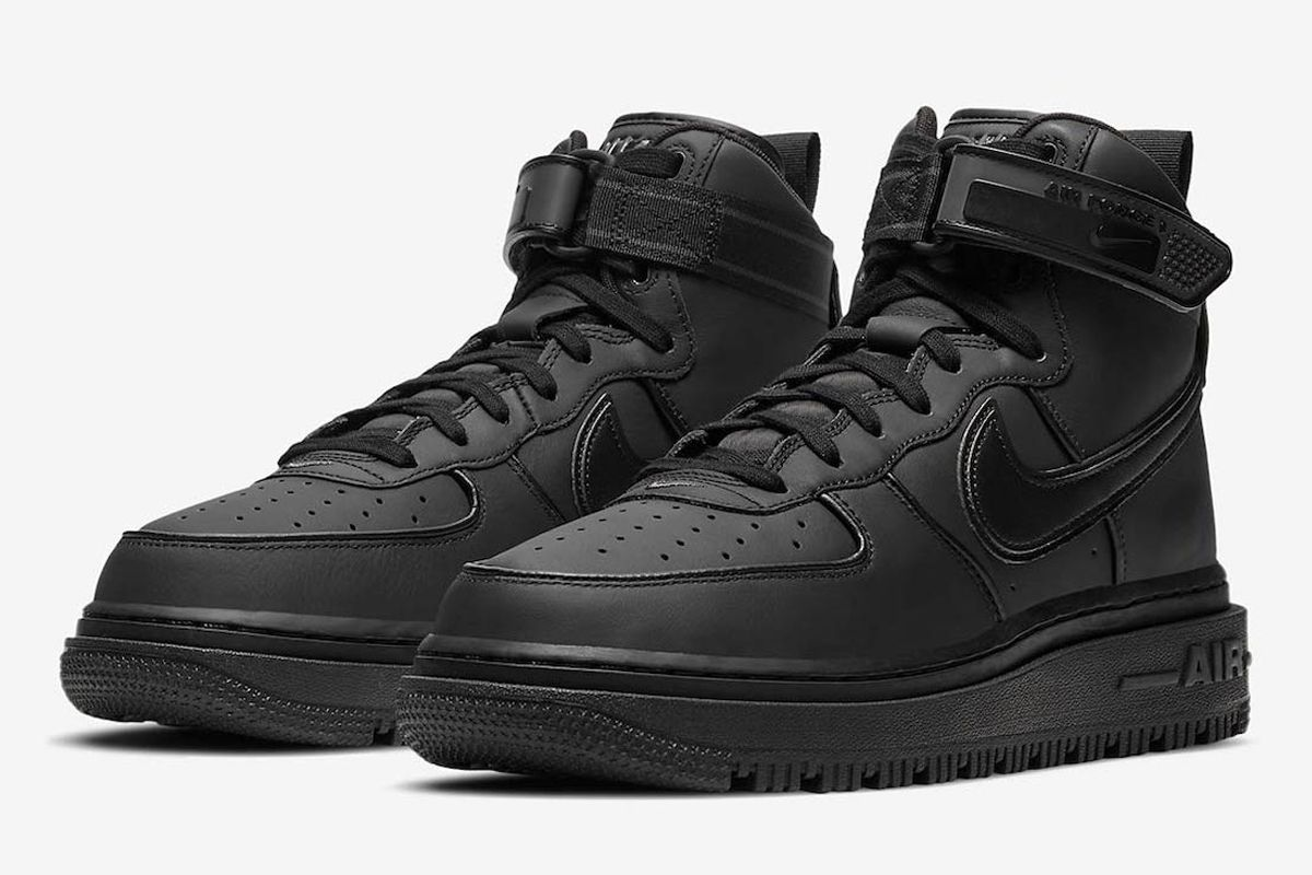 Nike's New All-Black AF1 Boot Is the Perfect Winter Hybrid 3