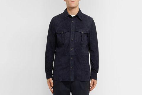 Barron Suede Shirt Jacket