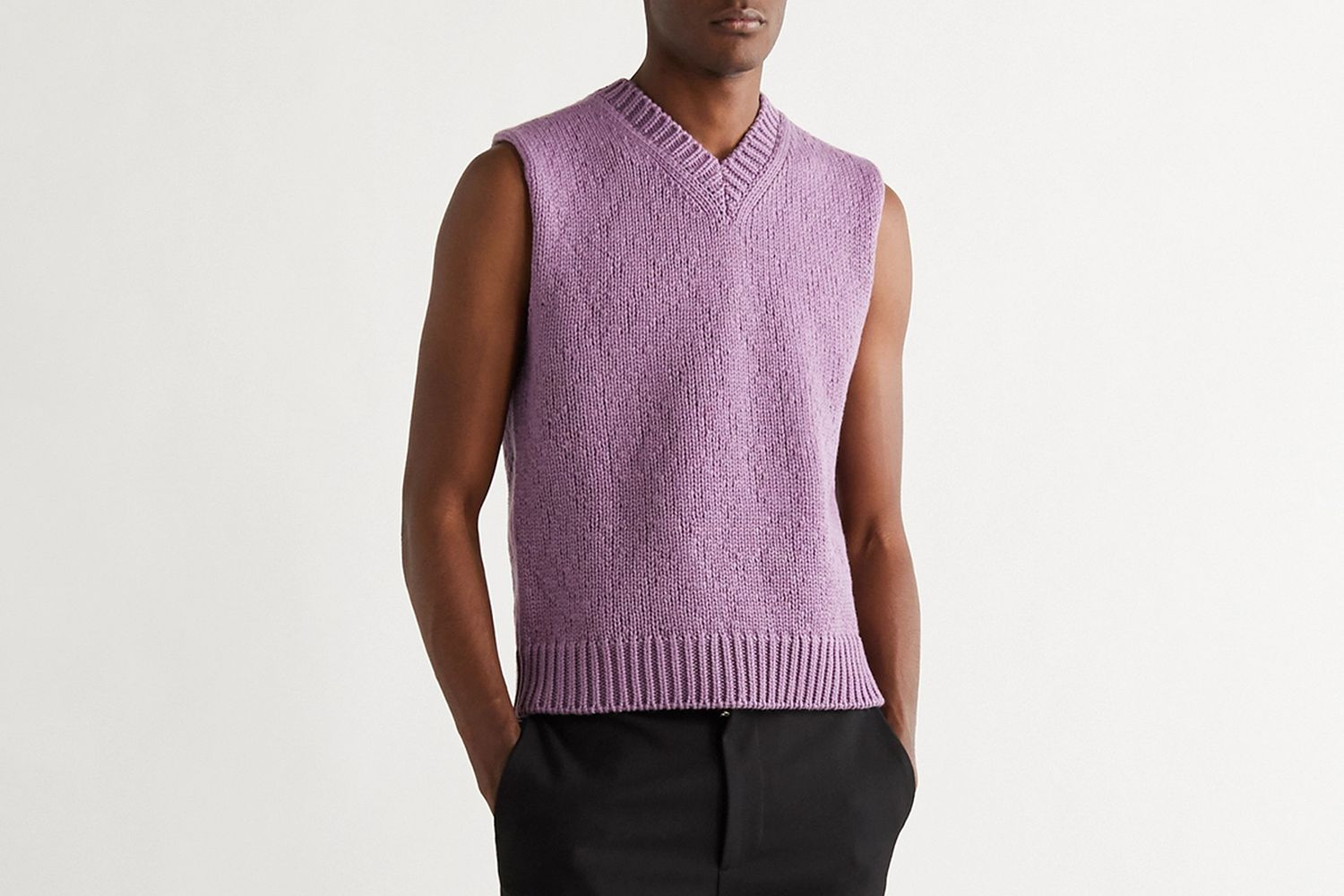 Wool and Cashmere Sweater Vest