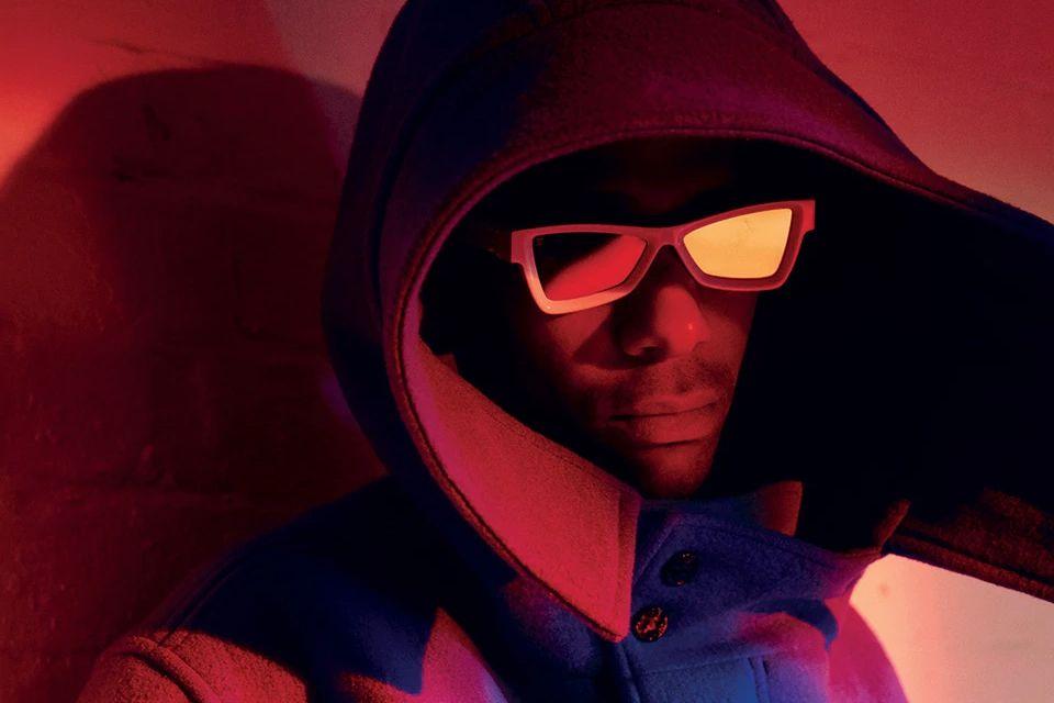 Lucien Clarke hood sunglasses