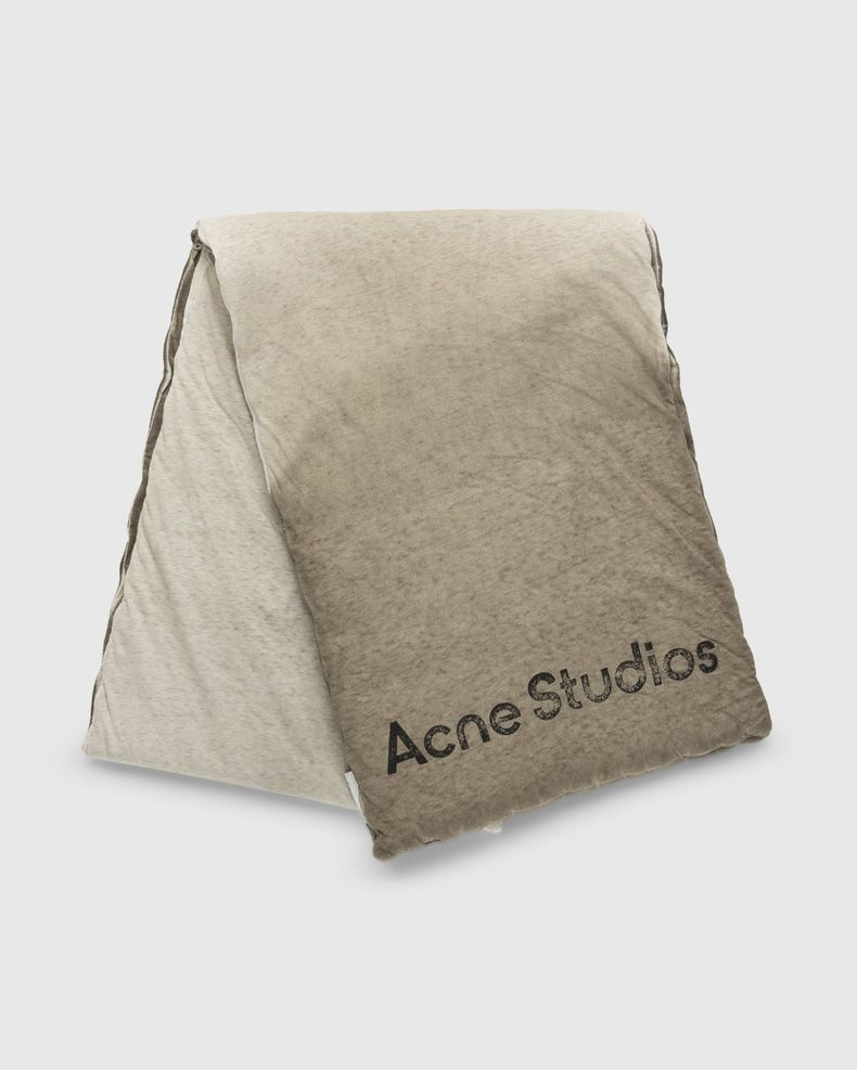 Acne Studios – Ombre Padded Scarf Dusty Brown