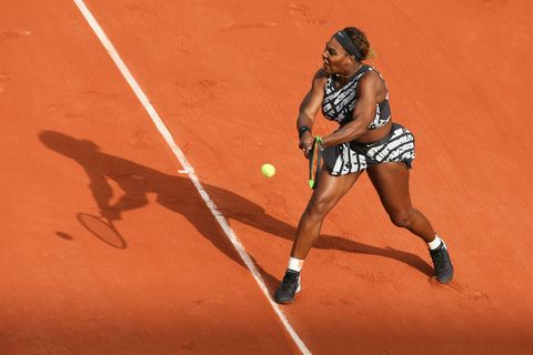 serena williams virgil abloh tennis fit Nike french open