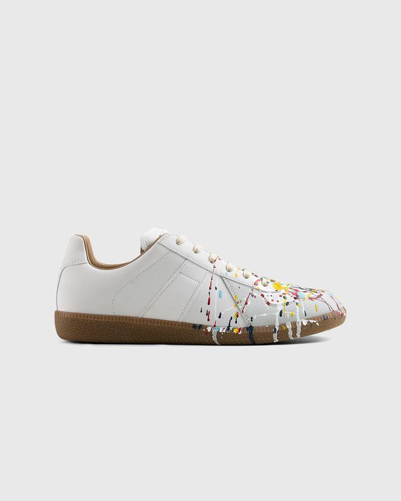 Maison Margiela – Replica Paint Drop Sneakers White