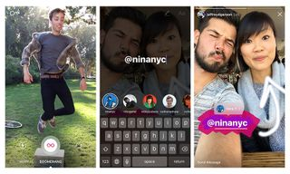 Instagram Stories Update Adds Boomerang Mode, Mentions and More
