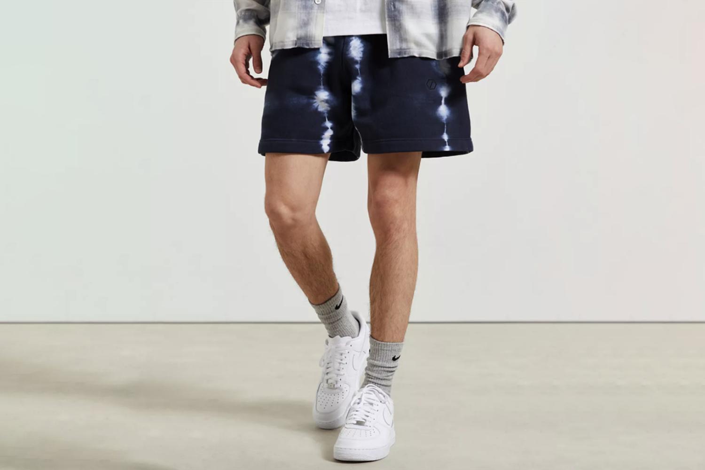 Stripe Dye Sweat Short