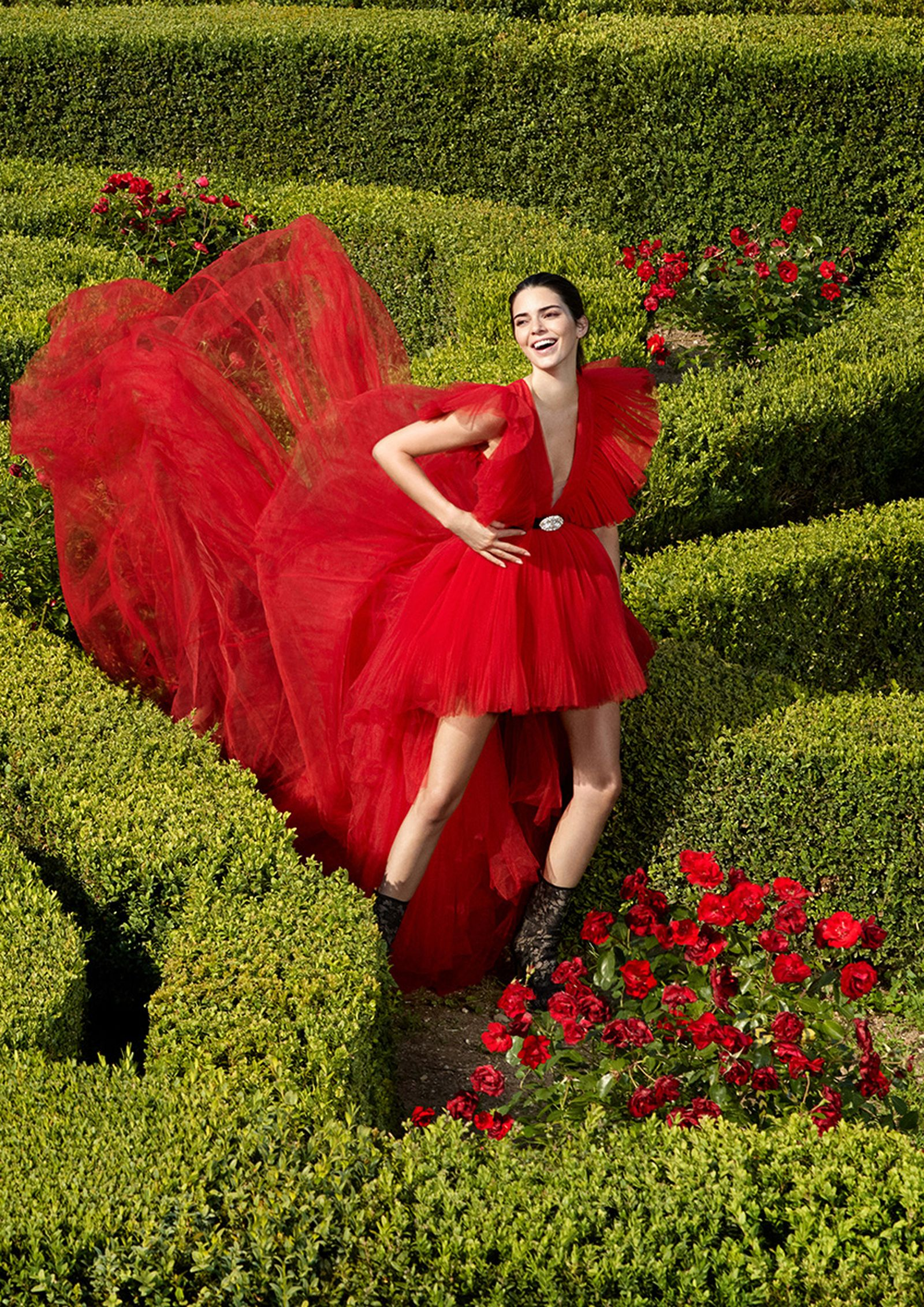 Kendall Jenner Giambattista Valli x H&M campaign