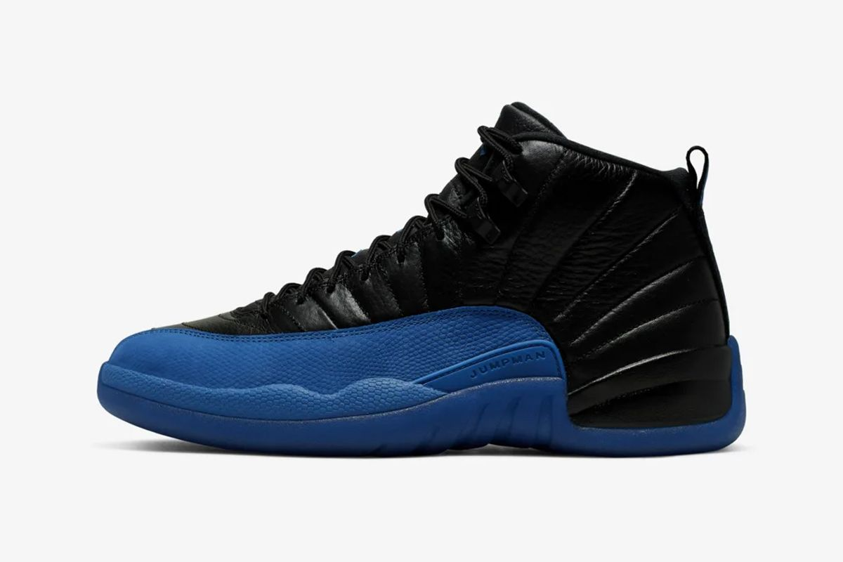 """The Air Jordan 12 Gets the """"Royal"""" Treatment for the First Time 1"""
