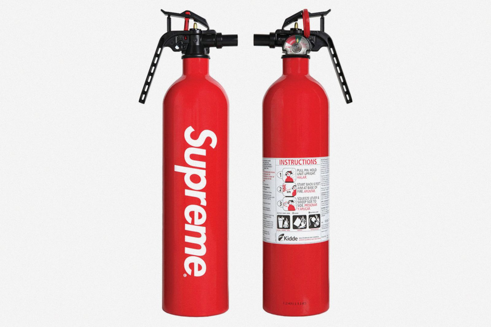 supreme accessories kidde extinguisher