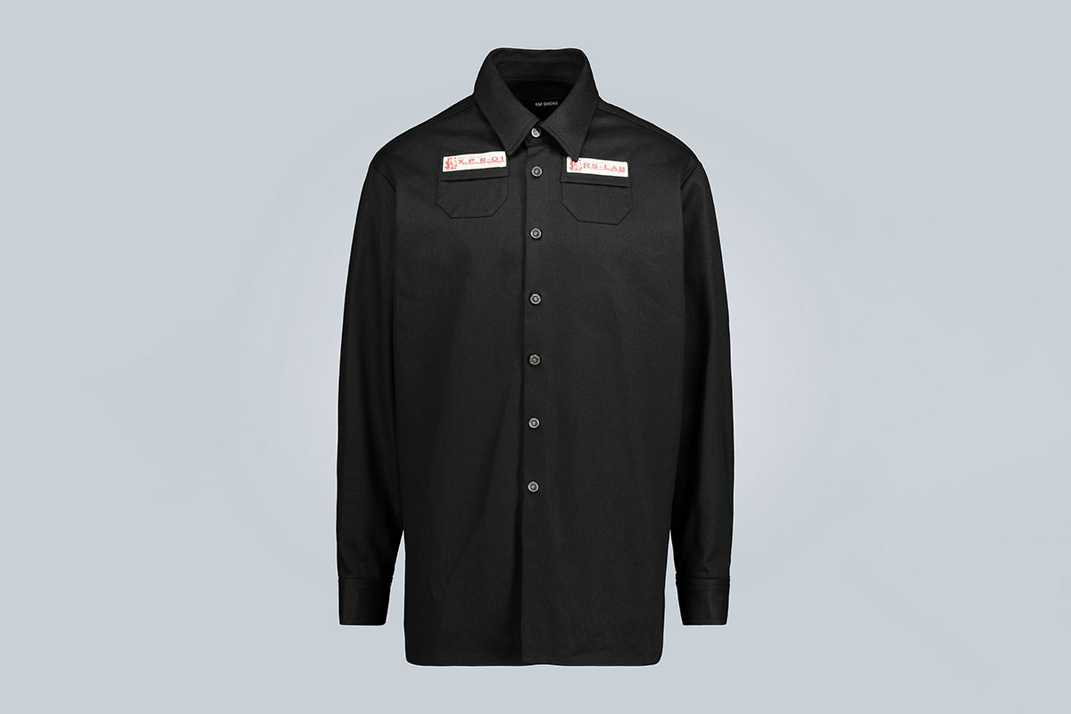 Slim-Fit Denim Shirt