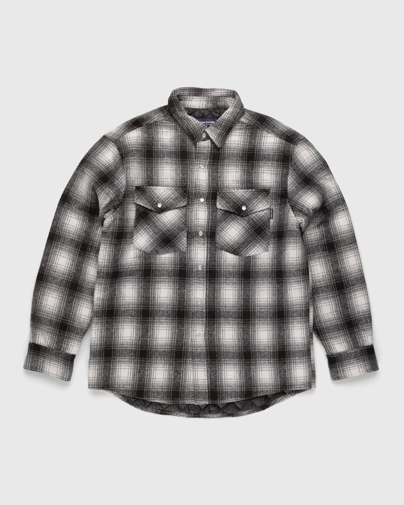 Noon Goons — Tahoe Quilted Flannel Grey