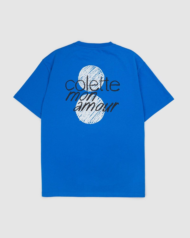 Colette Mon Amour — HS Dots T-Shirt Blue - Image 1