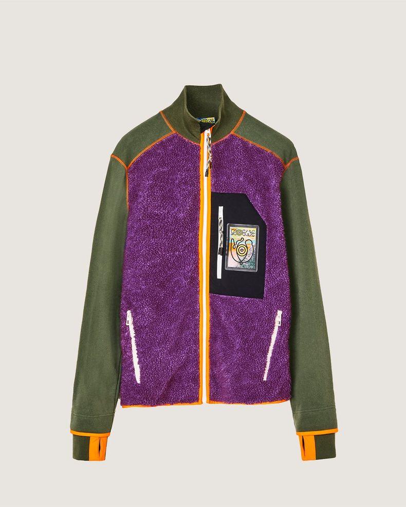 Eye/Loewe/Nature — High Neck Fleece Jacket