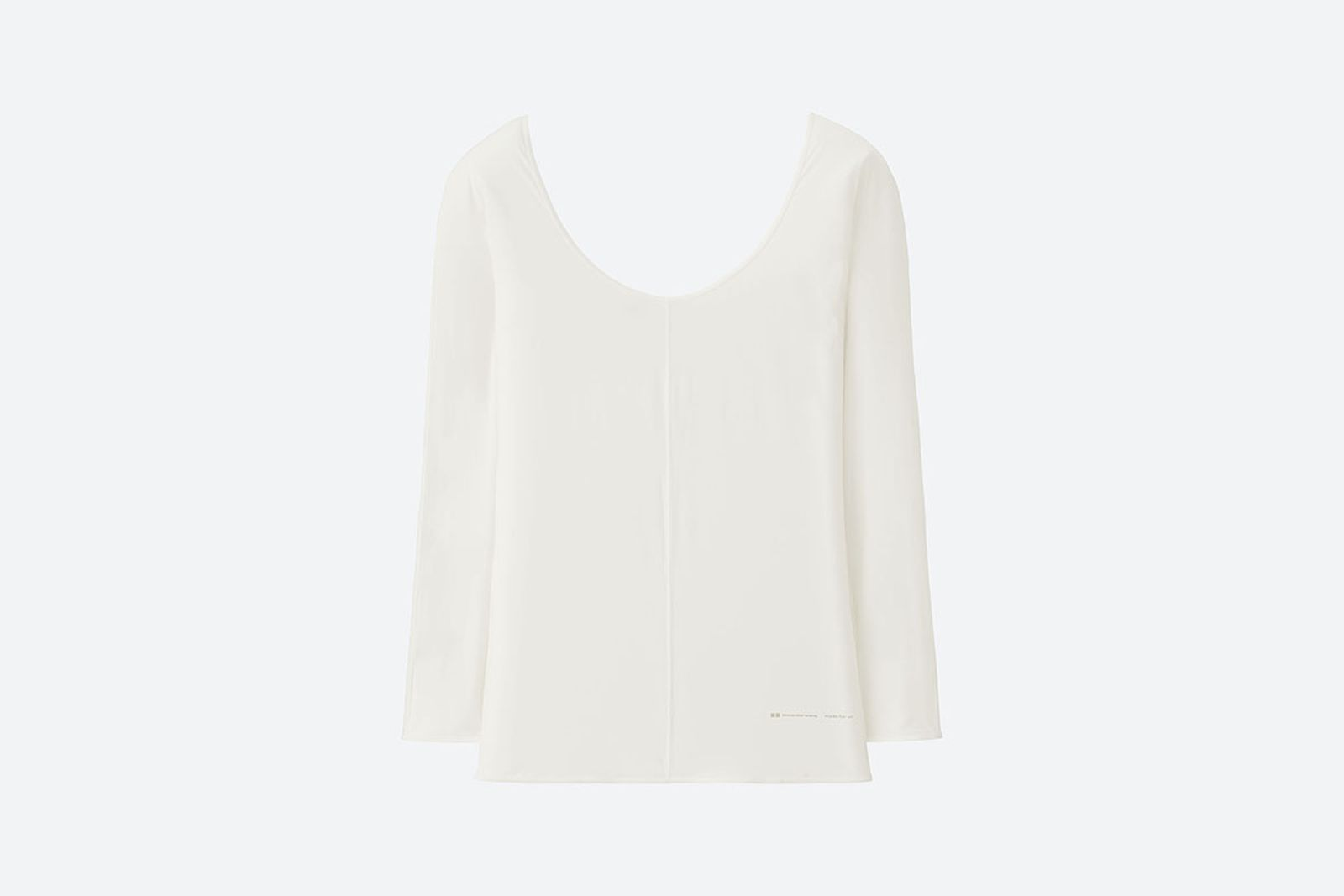 alexander wang uniqlo airism collection