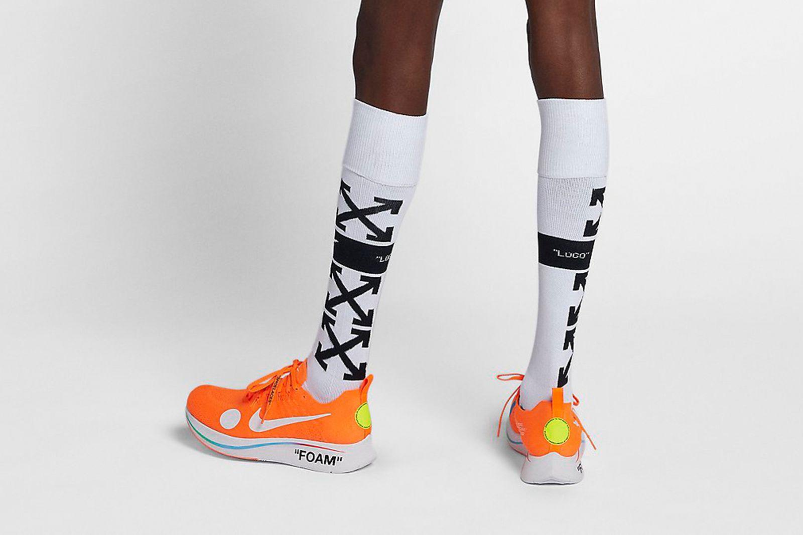 soccer socks white 2018 FIFA World Cup Nike OFF-WHITE c/o Virgil Abloh