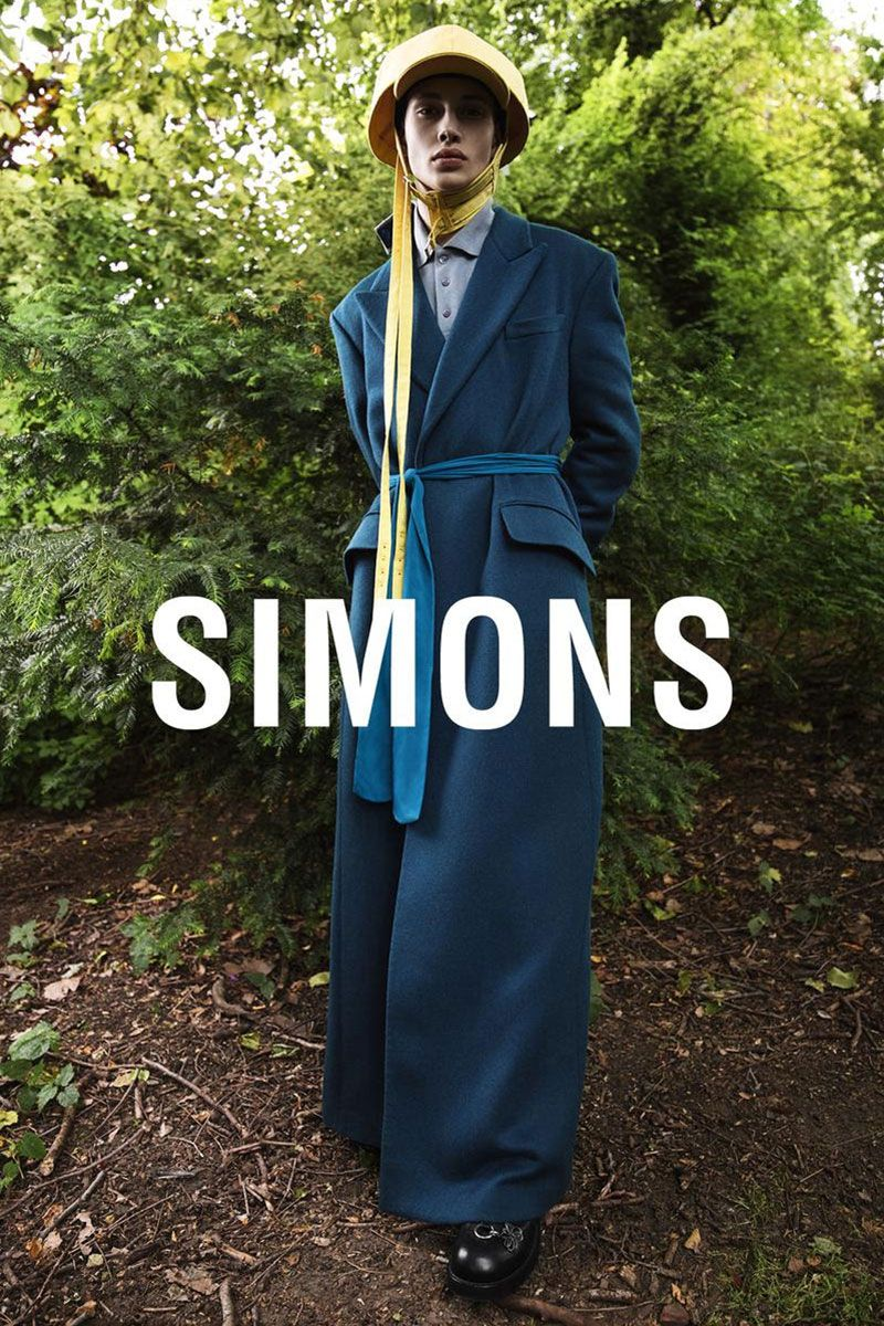 Raf Simons is All About Oversized Elegance in New FW19 Campaign