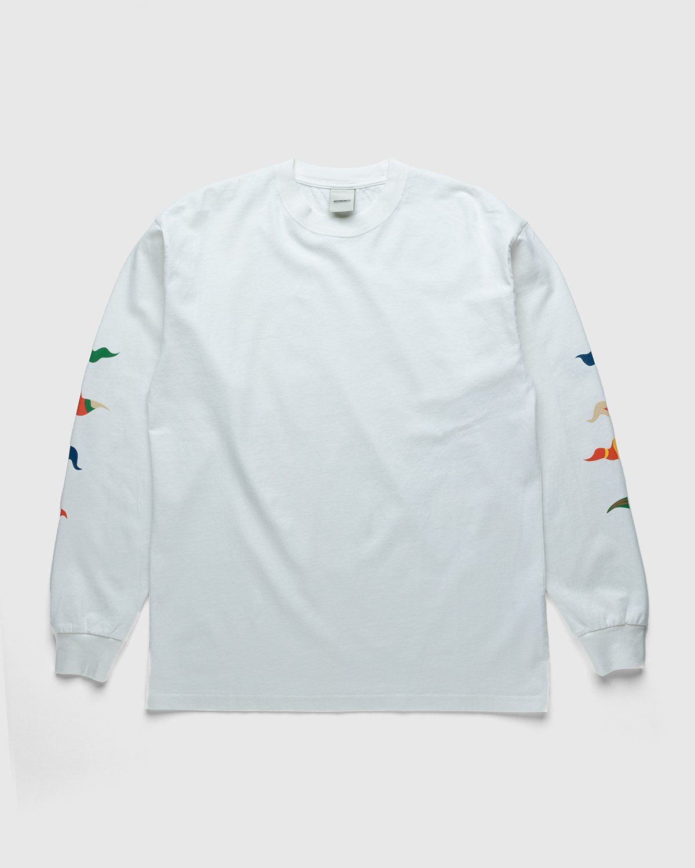 Highsnobiety – Flags Longsleeve White - Image 1