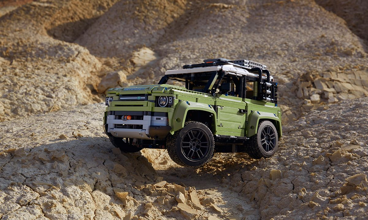 LEGO's 2,573-Piece Land Rover Defender Is as Good as the Real Thing
