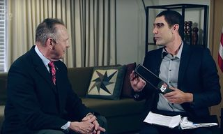 """Watch Sacha Baron Cohen Scan Roy Moore With a """"Pedophile Detector"""" on 'Who Is America?'"""